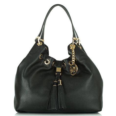 Tassel Bag michael kors black leather camden tassel shoulder bag