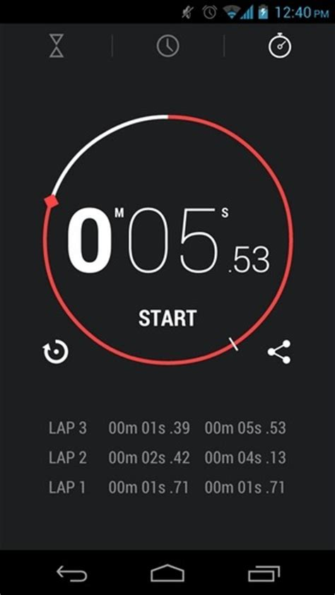 stopwatch android install android 4 2 keyboard clock app apk on jelly bean 4 1 x