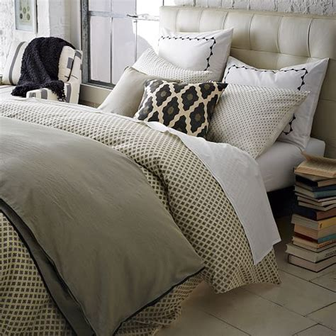 west elm bedding linen cotton shams west elm