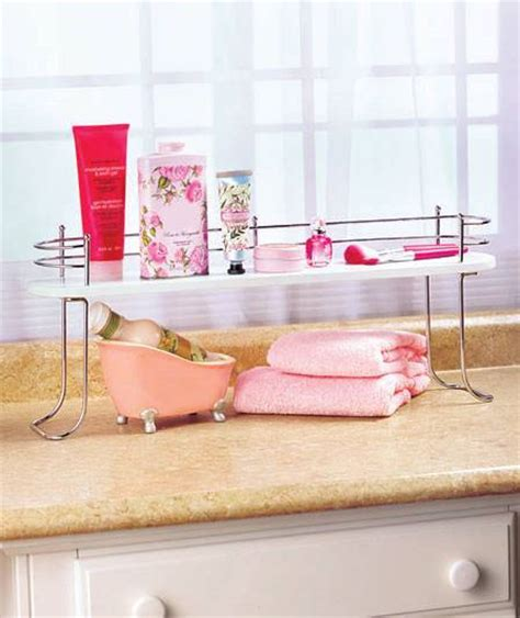 over the bathroom sink organizer over the sink bathroom shelves storage organizer natural