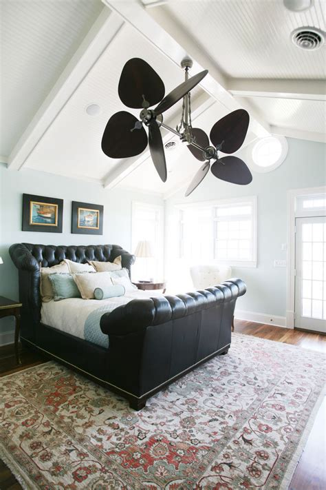 cool ceiling fans bedroom traditional with area rug