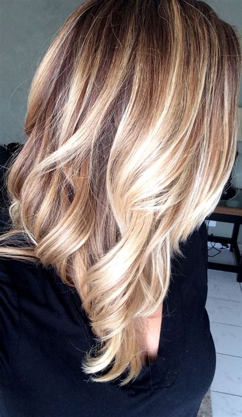 fine blonde highlights diy balayage highlights for each individual thin
