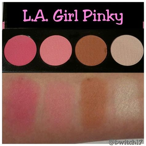 La Brick Blush l a brick blush collection in hello these pinks another great palette