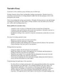 Write Narrative Essay by Writing The Narrative Essay Teacherlingo