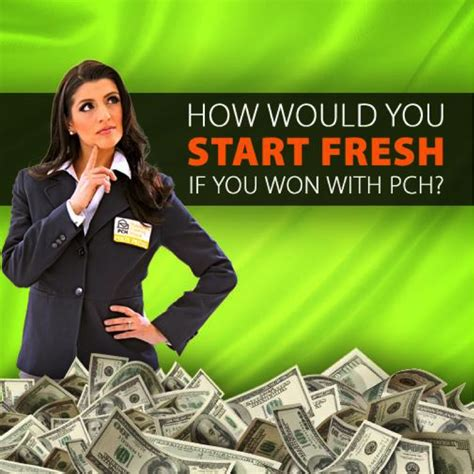 Who Won The 7000 A Week For Life Pch - how would you start fresh if you won 7 000 a week for life