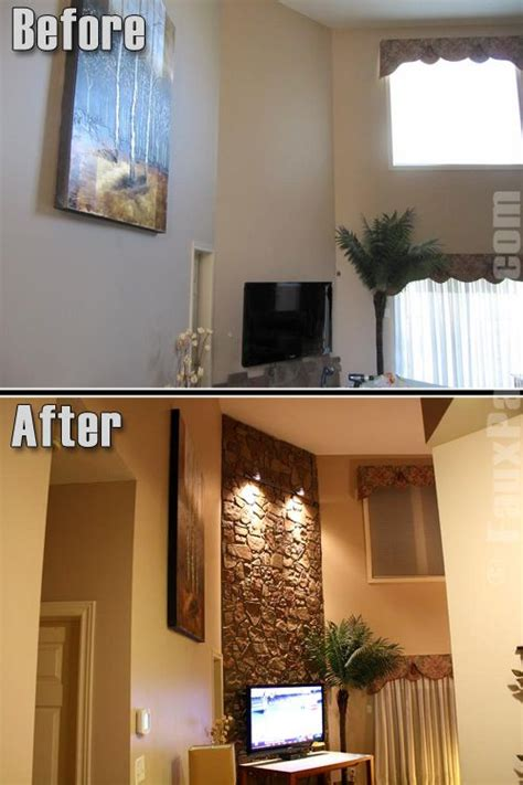 Textured Wall Paint Cost - accent wall ideas accent wall ideas installing stone veneer over brick interior design