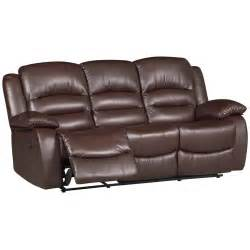Electric Reclining Leather Sofa Venice 3 Seater Electric Reclining Leather Sofa Next Day