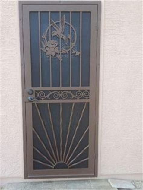 Decorative Security Doors by Decorative Security Screen Doors Ensures A Snug Fit And