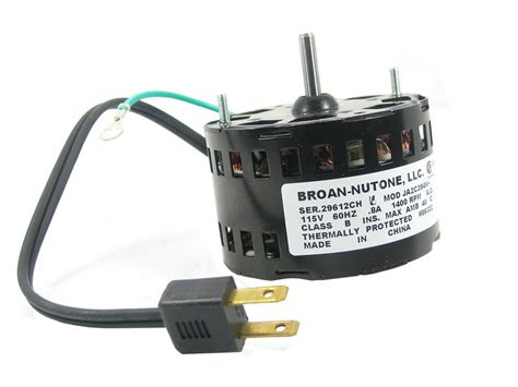 broan nutone replacement fan motor kits nutone bathroom exhaust fan nutone 60 cfm bath fan
