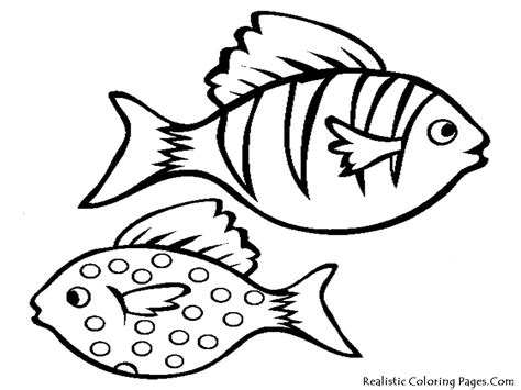 printable fish coloring pages aquarium fish printable coloring sheet realistic
