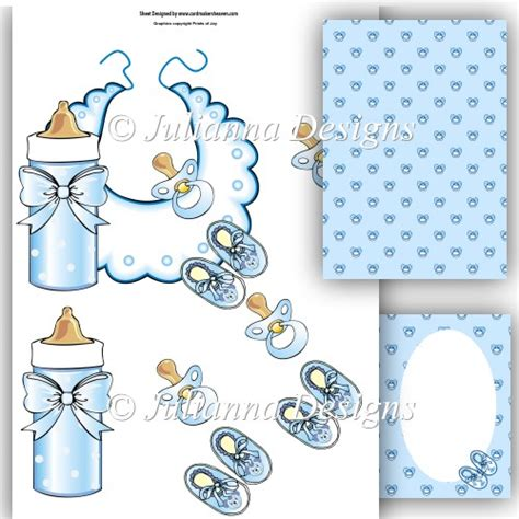3d Decoupage Free Downloads - baby essentials decoupage sheet blue 163 1 00 instant