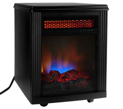 Infrared Electric Fireplace Heater by Home Infrared Electric Quartz Fireplace Heater