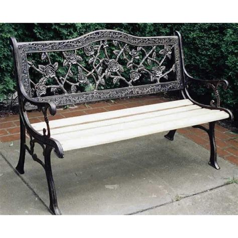 bench king oakland living 174 king rose bench 122335 patio furniture