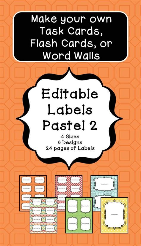 make your own math flash cards 278 best images about labels on teachers