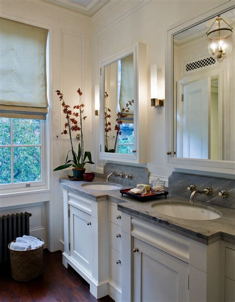 surface mount medicine cabinet Bathroom Traditional with