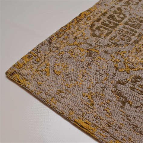 tapijt geel geel vintage vloerkleed kopen vintage vloerkleden