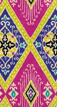uzbek hand crafted woven silk cotton ikat adras fabric