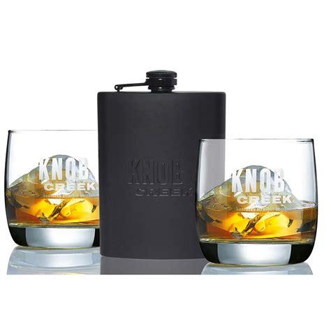 Knob Creek Flask knob creek flask glass set