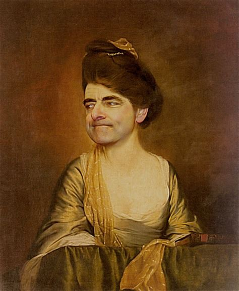 painting mr bean mr bean in classic paintings