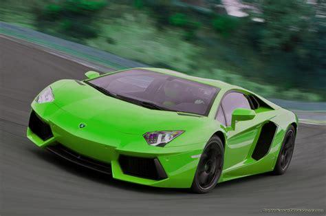 Lamborghini Aventador Green Lime Green Lamborghini Aventador Prestige Cars