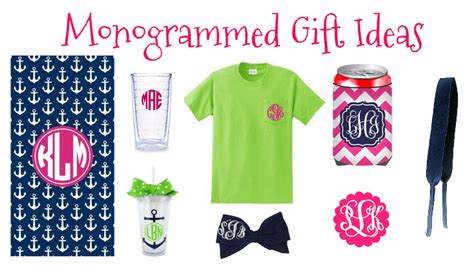 monogrammed gift ideas stay fabulous july 2014