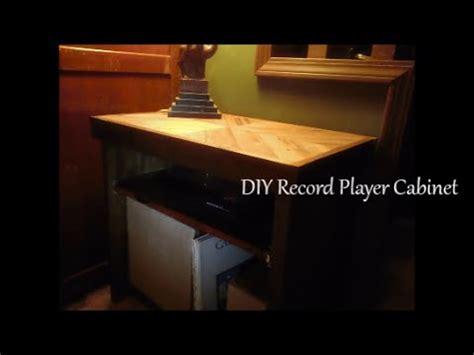 diy record player cabinet diy record player cabinet