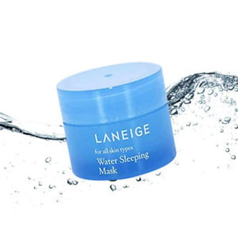Laneige Water Sleeping Mask Di Korea laneige water sleeping mask 15ml 1pcs korea