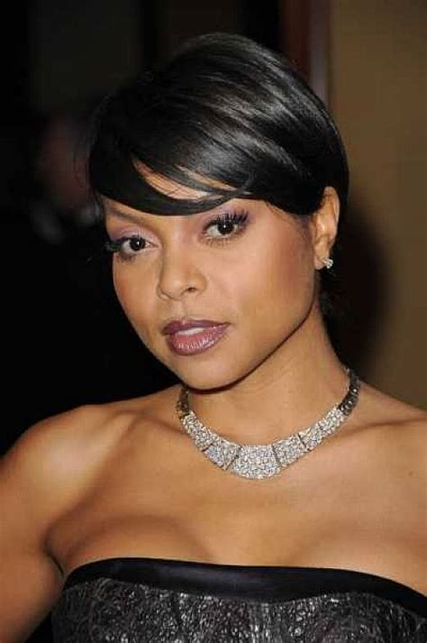 black women hairstyles short on one side and long on the other short trims black celebs
