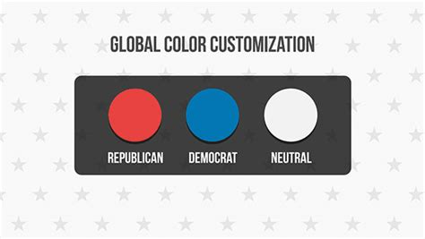 flat design after effect project 39 flat usa election icons special events after effects