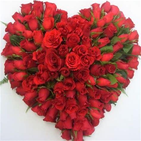 imagens de flores e rosas coraz 243 n de rosas rojas para el d 237 a de los enamorados la