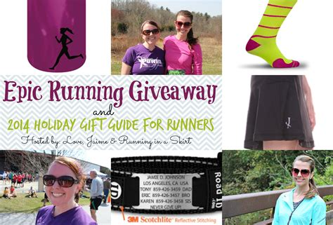 Running Giveaway - epic running giveaway holiday gift guide for runners 2014 running in a skirt