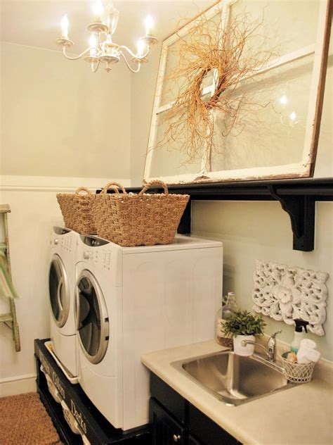 Decorating Laundry Rooms 10 Chic Laundry Room Decorating Ideas Hgtv