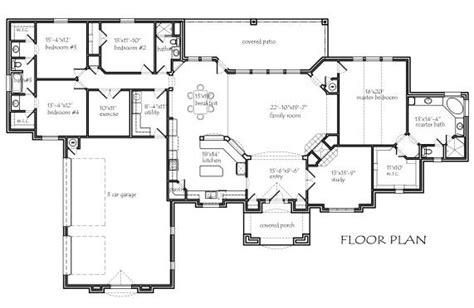 texas house floor plans texas house plans