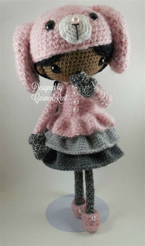 pattern for yarn doll june and her rabbit amigurumi doll crochet pattern pdf