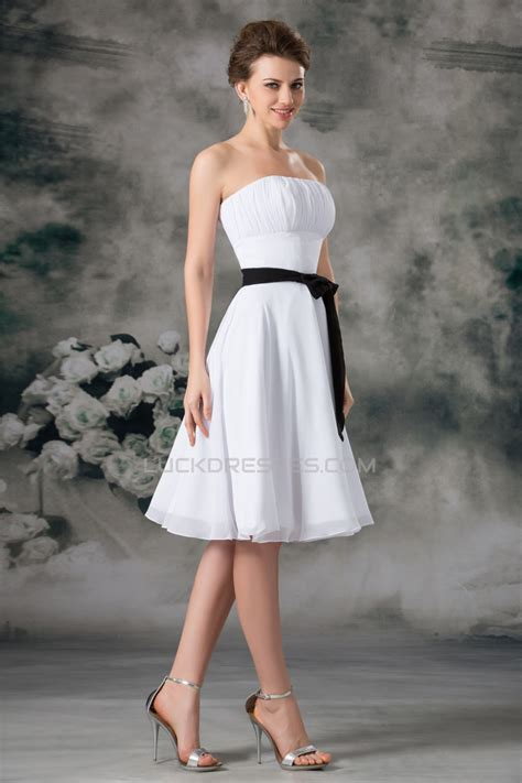 Sleeveless A Line Chiffon Dress a line sleeveless chiffon white bridesmaid dresses