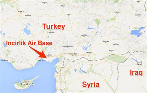 map of air bases in turkey and the war against business insider