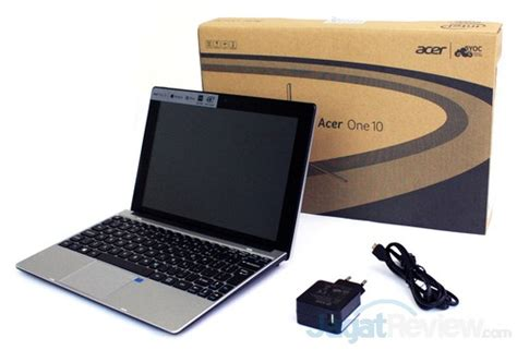 Baru Laptop Acer One 10 preview acer one 10 tablet 2 in 1 baru dengan intel bay