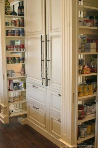 built in fridge and great shelves home collection