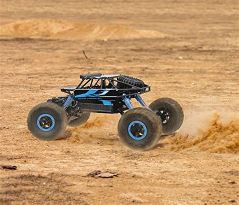 Rc Rock Crawler 4wd 2 4 Ghz Blue Black click n play remote car 4wd road rock crawler vehicle 2 4 ghz blue buy in
