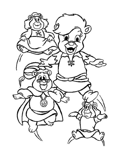 Printable Gummy Bear Coloring Pages Coloring Me Gummy Coloring Page