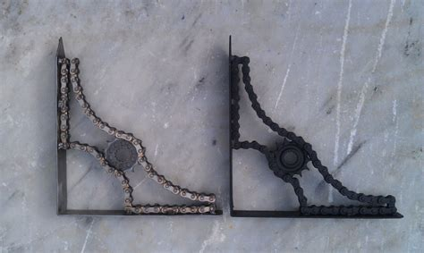 Handmade Shelf Brackets custom made shelf brackets by moto metal fab custommade