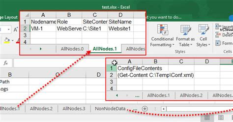format excel with powershell powershell convert excel to dsc desired state