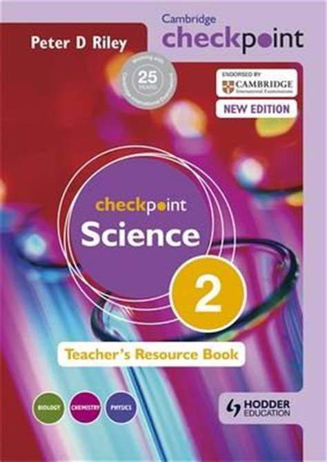 cambridge checkpoint science s resource book 2 9781444143812