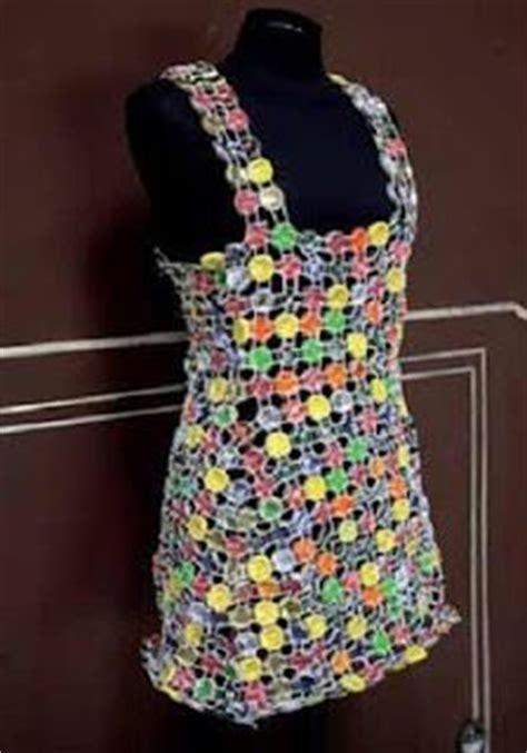 vestido con material reciclado 1000 images about vestidos de reciclaje on pinterest