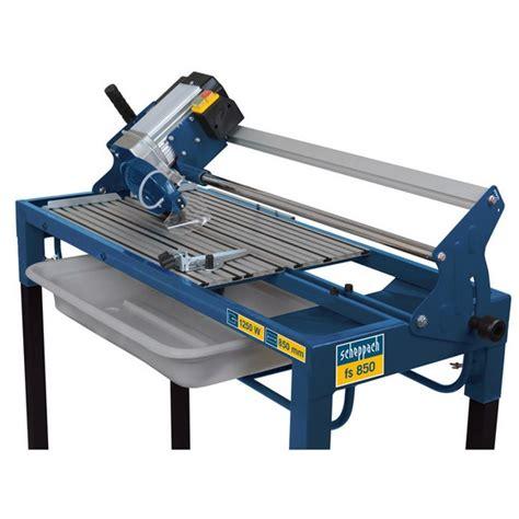 Scheppach Fs 850 Professional 850mm Wet Radial Tile Cutter