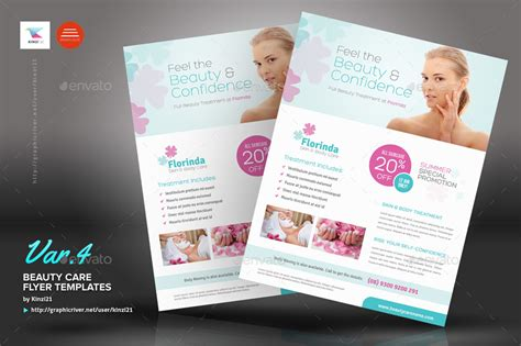 templates for beauty flyers beauty care flyer templates by kinzi21 graphicriver