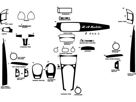 2004 bmw z4 interior trim diagrams bmw auto parts