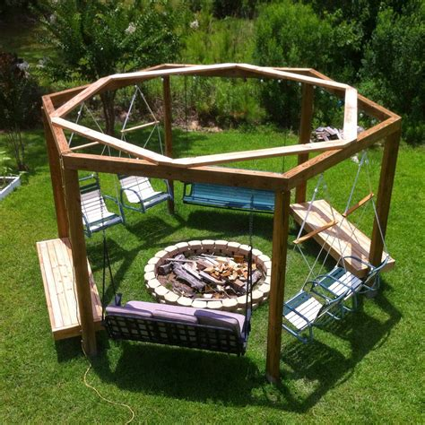 fire pit swing plans guide patterns