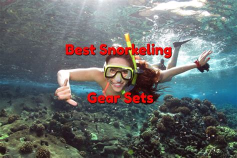 best snorkeling set best snorkel mask and fins reviews 2017 with images