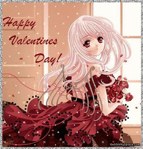 anime valentines card anime day cards anime wishes